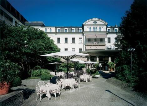 Innenhof europäischer Hof Heidelberg