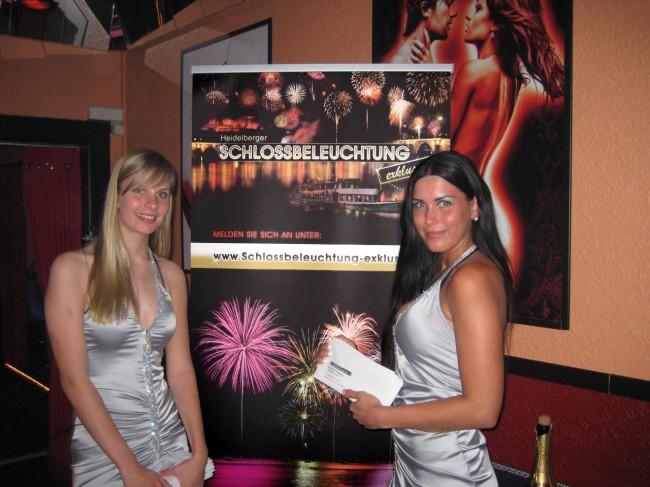 Promogirls Schlossbeleuchtung Heidelberg Belair